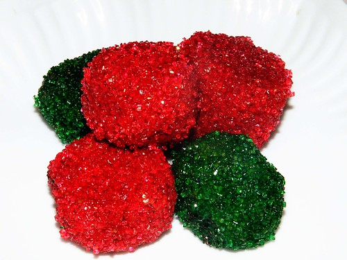 Red & Green Christmas Rum Balls