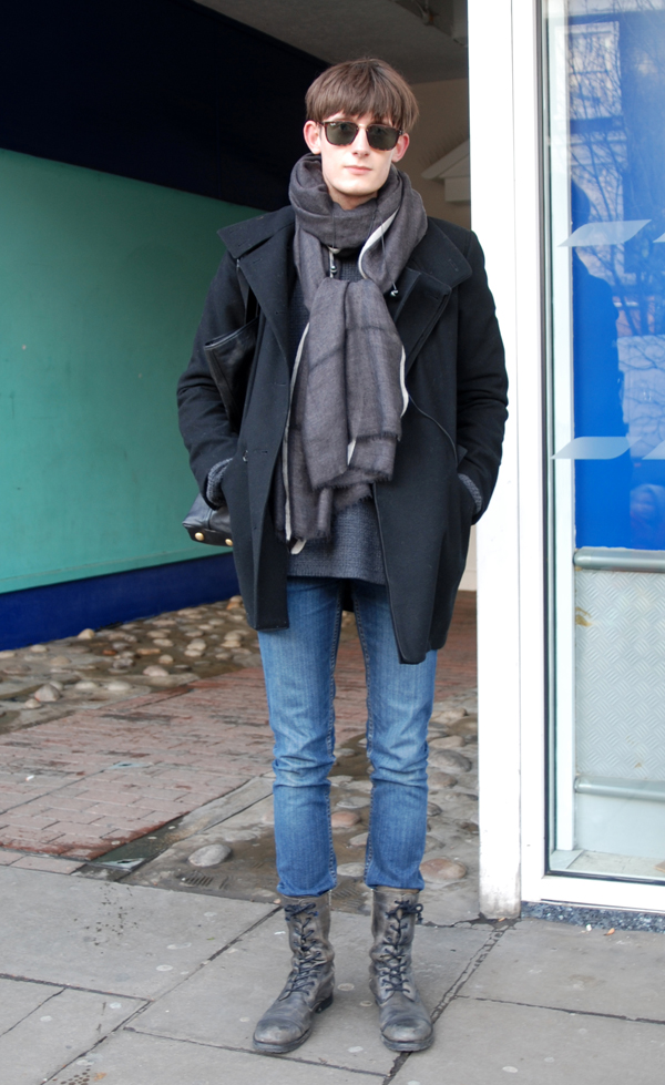 THE STYLE SCOUT - London Street Fashion: The combat boots again