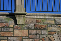 Carved details (Bob Palin) Tags: bridge usa maryland trompeloeil frederick club100 communitybridge vogonpoetry orig:file=2008122912793 nopin
