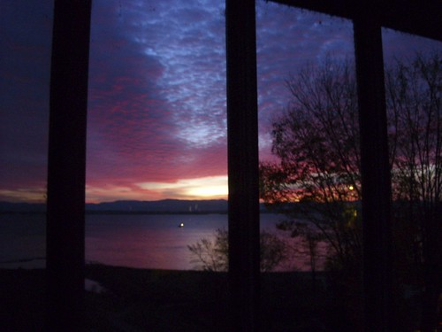 dawn 10/27/09, Westport, NY