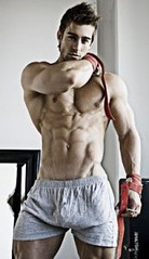 yan yağları eritme hareketleri bel inceltme kaslı erkek vücudu