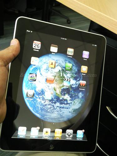 Apple iPad Home Screen