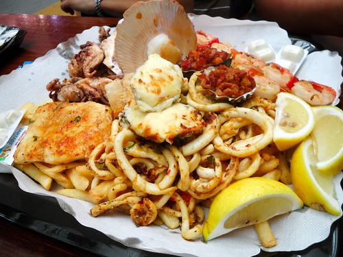 Sydney Fish Market Seafood Platter
