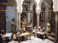 School-Aben (oboudiold) Tags: sahara arabic bedouins bedouin arabs arabiannights