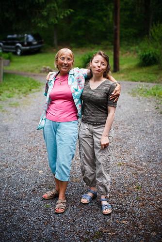 Heidi and Mom