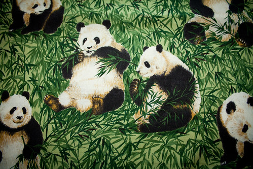 Robert Kaufman Panda Fabric