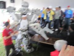 IMG_1216 (Michael C. Meyer) Tags: cambridge anime water sport festival boston club race silver river giant square ma japanese robot boat costume dragon transformer mit harvard chinese charles animation android mecha kristof mech mechanoid dbcb erkiletian