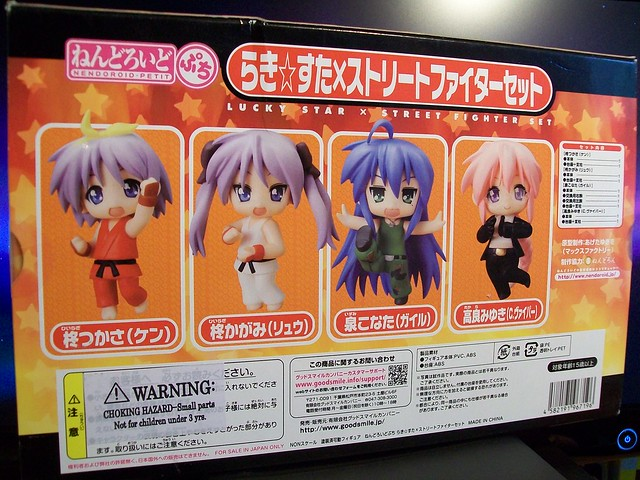 Lucky Star X Street Fighter set
