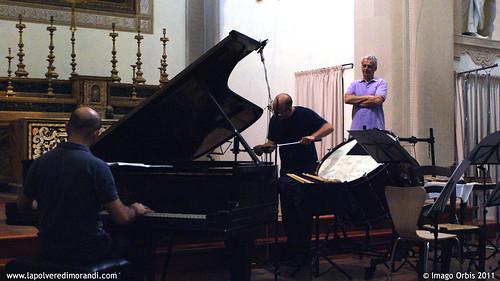 La polvere di Morandi / Giorgio Morandi's Dust | Backstage Soundtrack Recording #17