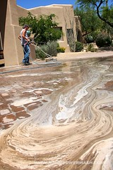 Cleaning & Sealing Pavers by ACME POWERWASH