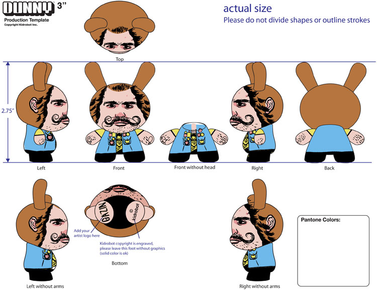 2010/06/10 Rejected Dunny Toy Design No. 01