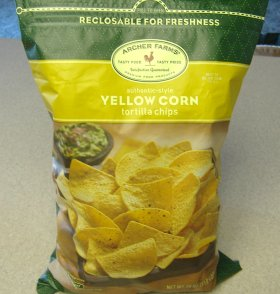 Target's Yellow Corn Tortilla Chips