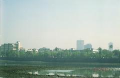 Skyline (Jennifer Kumar) Tags: bombay mumbai india1998 negativescanmumbaiskyline