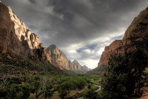 Zion Valley by Louis Vest