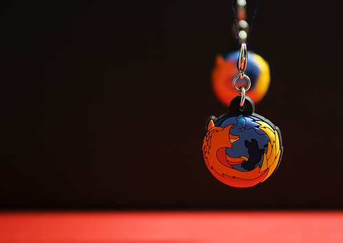 Firefox wallpaper: just a matter of perspective