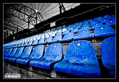 Used to be crwoded ! (Khalid AlHaqqan) Tags: blue bw race canon 350d rebel xt bahrain chairs stadium seat blues sigma f1 tent line seats formula 1020mm circuit formula1 khalid soe blueribbonwinner abigfave kuwson shieldofexcellence platinumphoto alhaqqan superbmasterpiece diamondclassphotographer goldstaraward eyelead