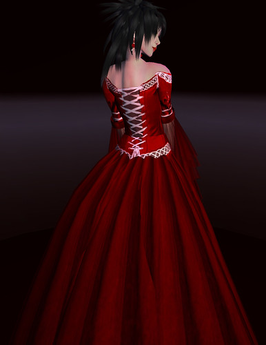 kouse's sanctum lady serenity red rose II