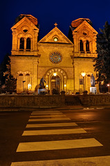 Cathedral Basilica of St. Francis of Assisi (Fort Photo) Tags: newmexico santafe building church stone architecture nikon catholic cathedral basilica religion gothic adobe nm saintfranciscathedral romanesque stucture hdr revival d300 mywinners aplusphoto cathedralbasilicaofstfrancisofassisi life~asiseeit