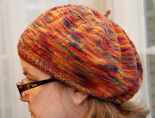 Purl Beret Knitting Pattern : Knit me a river: The Purl Beret