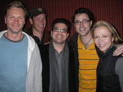 Chris Strompolos with the VTSL cast
