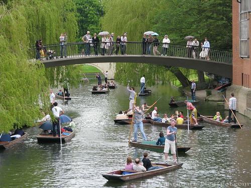 Punting at River Cam