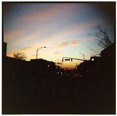 Sunrise on Wood Ave.