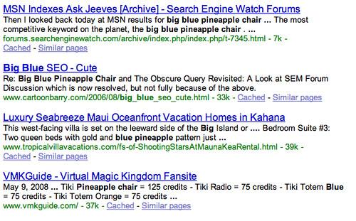 Case Sensitive Google