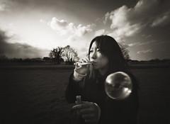 projection (zeissizm) Tags: sky bw cloud 20d monochrome japan canon eos bubble nara 1022mm