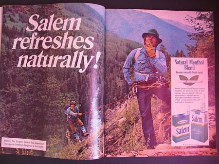 реклама сигарет salem