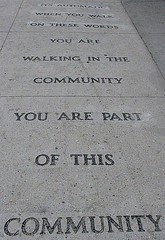 Sidewalk Message