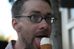 David at Ici Ice Cream (Elmwood/Berkeley)
