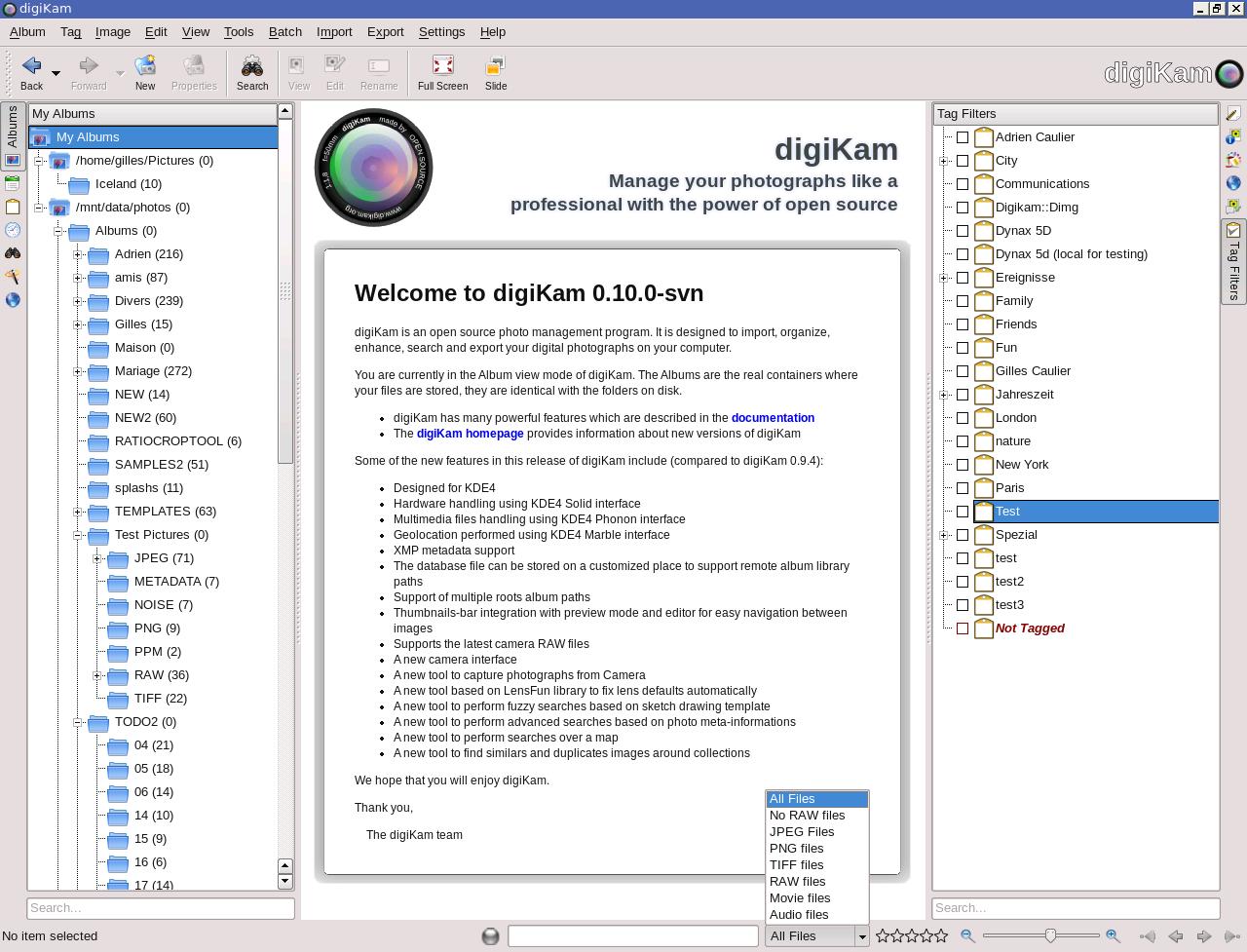 digiKam - digikam org re-designed