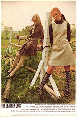 McCalls Fashion Ad 1970 (obsequies) Tags: stockings fashion socks vintage photo clothing mod october shoes pattern dress ad 1960s 1968 mccalls redbookmagazine theleatherlook