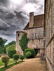 Saint Savin abbey (zozma*) Tags: sky cloud france abbey architecture ciel nuage hdr abbaye poitou hdrenfrancais photomaytix