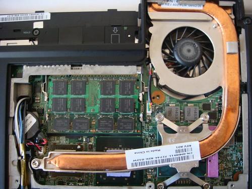 Dell XPS M1330 - nVidia GeForce 8400M GS - Copper Mod