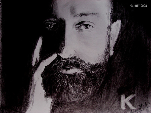 Kamalhaasan - Marmayogi - Pencil Sketch