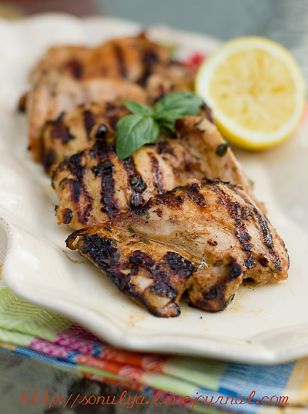 Lemn & Herb Grilled Chicken