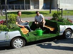 Jan-Geert en Robbert in t CarPark