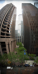 MoMA Window (wmliu) Tags: nyc newyorkcity panorama usa ny window us view manhattan pano moma museumofmodernart stitched 1022mm canonefs1022mmf3545usm verticalpano wmliu equirectangularprojection