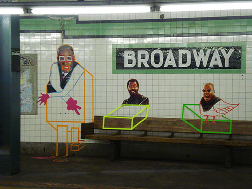 Ad-waiting by Poster Boy NYC.