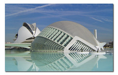 City of the Arts and the Sciences of Valencia, Spain, by jmhdezhdez (jmhdezhdez) Tags: city travel bridge copyright espaa abstract building art history tourism water glass valencia architecture river spain opera europe arte edificio hamilton arts engineering ciudad cable f1 ferrari paseo calatrava curve curved alameda alonso modernarchitecture raikkonen masa sciences stay agora santiagocalatrava allrightsreserved vidrio espania ciudaddelasartesylasciencias pritzker curving espanya turia arquitecto hormign ingeniera kovalainen ingeniero trencadis principefelipe renaultf1team abigfave serrera cityoftheartsandsciences ciudaddelasartesylascienciasdevalencia arquitecturacontempornea granpremiof1 goldstaraward httpwwwjmhdezhdezcom contactjmhdezhdezcom josmiguelhernndezhernndez frmula1valencia cityoftheartsandthesciencesofvalence puentedelaserrera wwwjmhdezhdezcom
