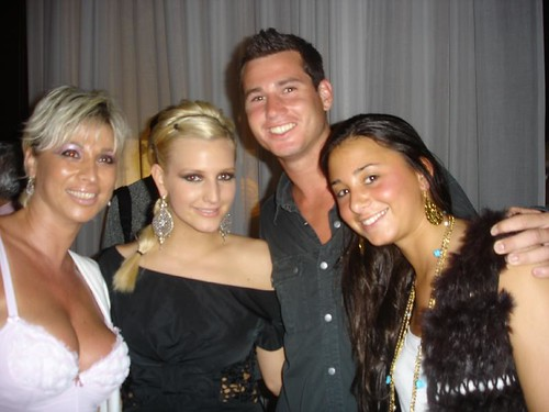 Ashlee Simpson in the Delano 2005