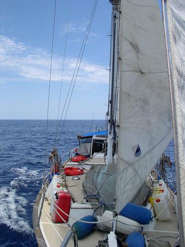 sea singapore sailing yacht kotakinabalu southchinasea downeast scappare joschmaltz de38