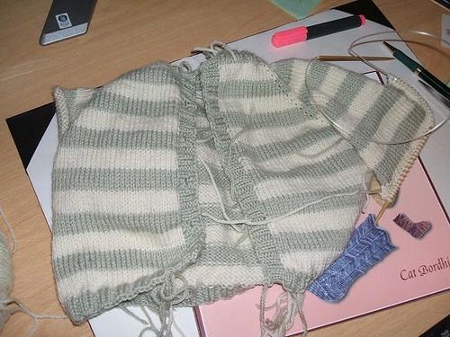 Clara's raglan cardigan