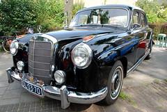 Oldtimer day at Ruinerwold: 1956 Mercedes-Benz 220 S (Michiel2005) Tags: auto car mercedes voiture mercedesbenz oldtimer ponton bolhoed 220s ruinerwold