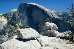 Half Dome from the North Dome (supersky77) Tags: california yosemite granite halfdome yosemitenationalpark northdome granito