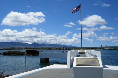 The USS Utah Memorial