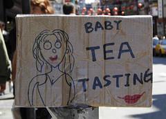 Baby tea tasting