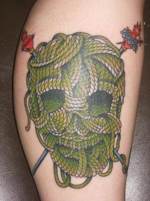 Knitting Skull And Crossbones Tattoo Knithacker