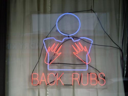 Boob rubs?